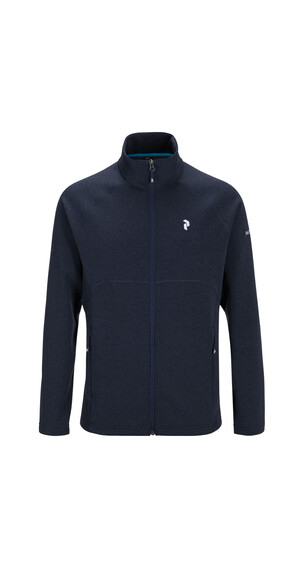 Peak Performance Will Zip Sweatshirt Men Blue Shadow